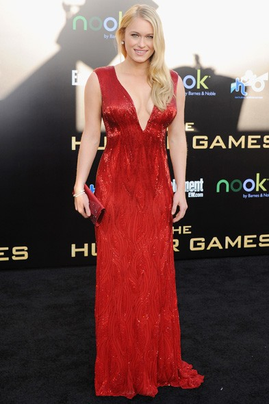 Leven Rambin at the LA premiere