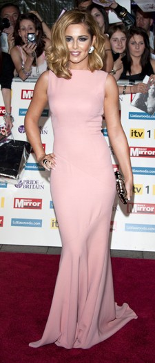 Cheryl Cole at the Pride of Britain Awards, October 2011