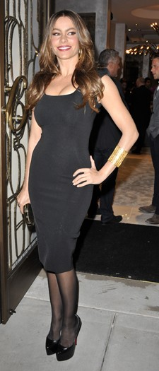 Sofia Vergara at the Monika Chiand store opening, October 2011