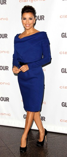 Eva Longoria at the 6th Annual Glamour Reel moments, October 2011