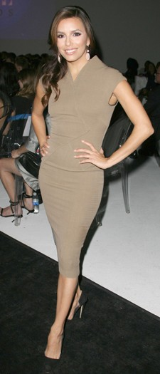 Eva Longoria atthe Hollywood Style Awards, November 2011