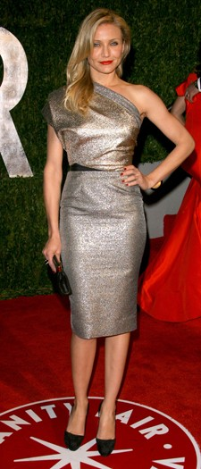Cameron Diaz at the Vanity Fair Party, March 2010