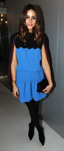Olivia Palermo at the Harvey Nichols after-party, February 2012