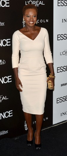 Viola Davis at a Hollywood lunch, February 2012