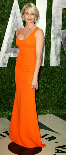Cameron Diaz at the Vanity Fair party, February 2012