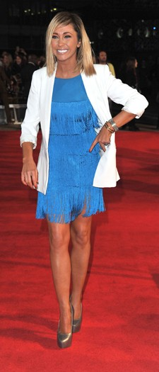 Jenny Frost at the London premiere