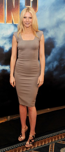 Gwyneth Paltrow at the Iron Man 2 photocall, April 2010