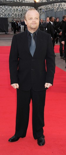 Toby Jones at the London premiere