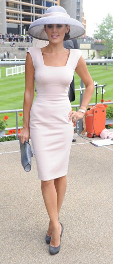 Danielle Lineker at the Royal Ascot, June 2010