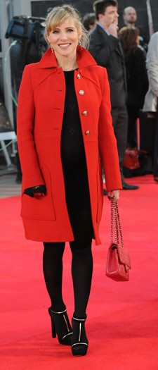 Elisa Pataky at the London premiere