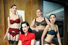 Sneak preview: Dita von Teese unveils debut Target lingerie collection