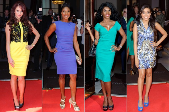 Amy Childs, Dionne Bromfield and Sinitta wow at Mum of the Year 2012