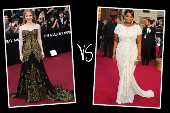 Queen of the red carpet 2012: Oscars bracket (round 2)