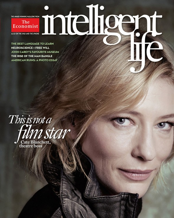 The real deal: Actress Cate Blanchett shuns Photoshop for magazine cover