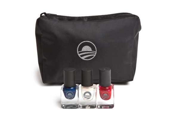 Obama campaign spends  0K on nail polish