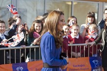 Duchess Kate borrows her mum's dress for Ipswich charity visit
