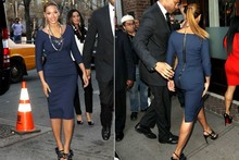 Beyonce dons slinky Victoria Beckham dress for Obama dinner