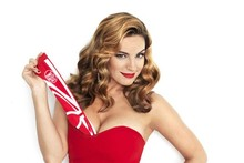 Kelly Brook reveals bust-boosting secret in little red dress for Sports Relief