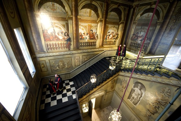 PICS: Will & Kate's new home opens to the public, includes Diana dress display