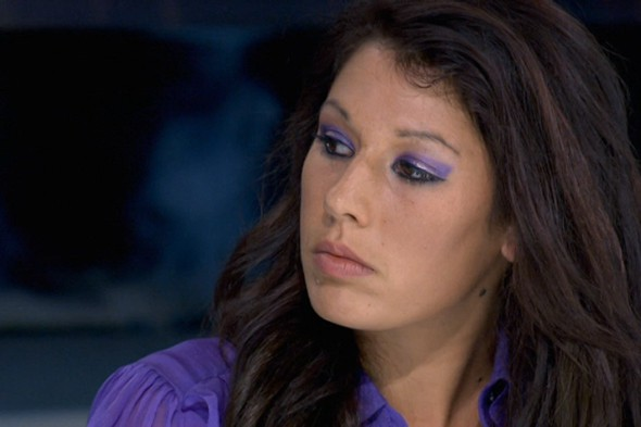 Makeup tips from TV: Maria from The Apprentice does purple eyeshadow