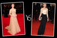 Queen of the red carpet 2012: Baftas bracket (round 2)