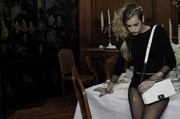 First look: Alice Dellal for Chanel's Boy campaign