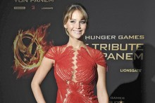 Ladies in red: Jennifer Lawrence vs Elizabeth Banks at Berlin Hunger Games premiere