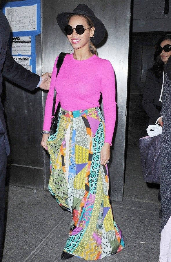 Hot or not: Beyonce channels the 'patchwork quilt' trend