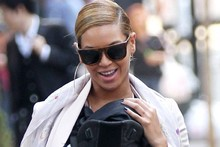 Beyonce takes Blue Ivy out for a stroll wearing matching mother-daughter shoes