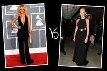 Queen of the red carpet 2012: Grammys bracket (round 1)