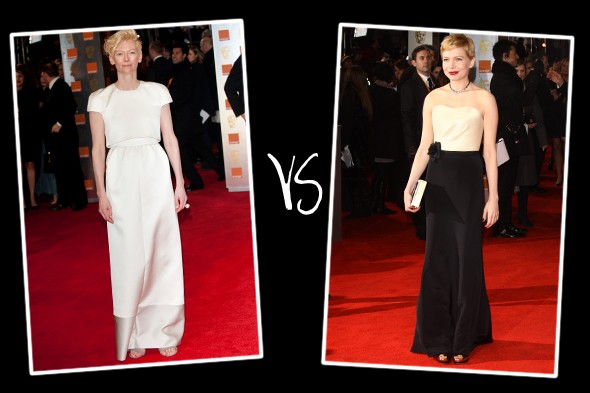 Queen of the red carpet 2012: Baftas bracket (round 1)
