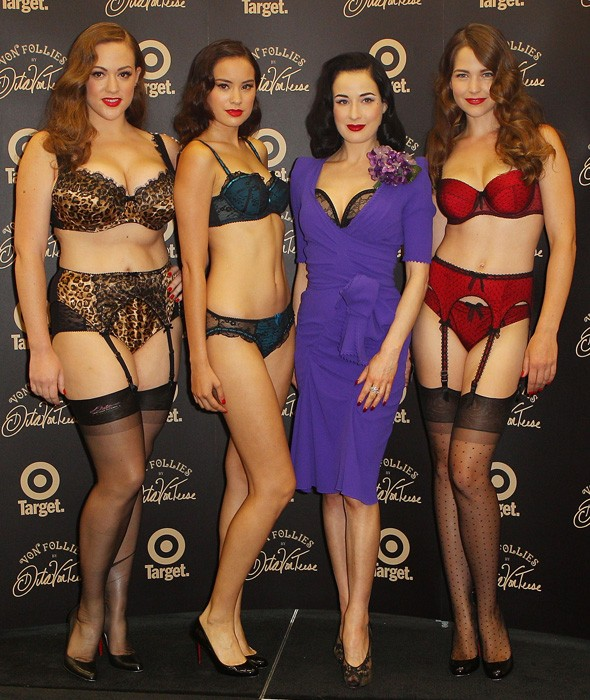 Von Follies by Dita Von Teese for Target Australia launch