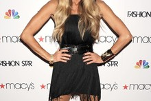 Fashion Star: Elle Macpherson rocks mini LBD, but how do you feel about those shoes?
