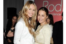 Elle Macpherson and Yasmin Le Bon win beauty awards (and duel with them)