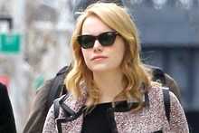 Emma Stone goes back to blonde, steps out with boyfriend Andrew Garfield in New York