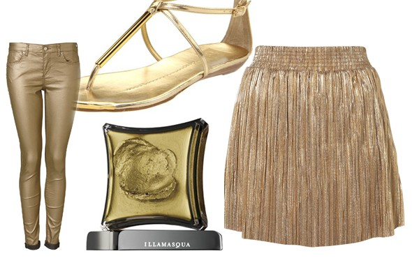 Fashion Trend to Try: Glittery Gold