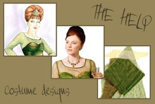 The Help: A peek into the costume designer's gorgeous sketchbook