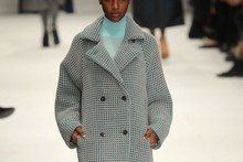 Graphic prints, 3D shapes and a new fabric at Issey Miyake A/W 2012