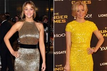 Fashion face-off: Jennifer Lawrence vs Elizabeth Banks at Hunger Games UK premiere