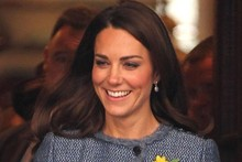 Duchess Kate, the Queen and Duchess Camilla visit Fortnum and Mason