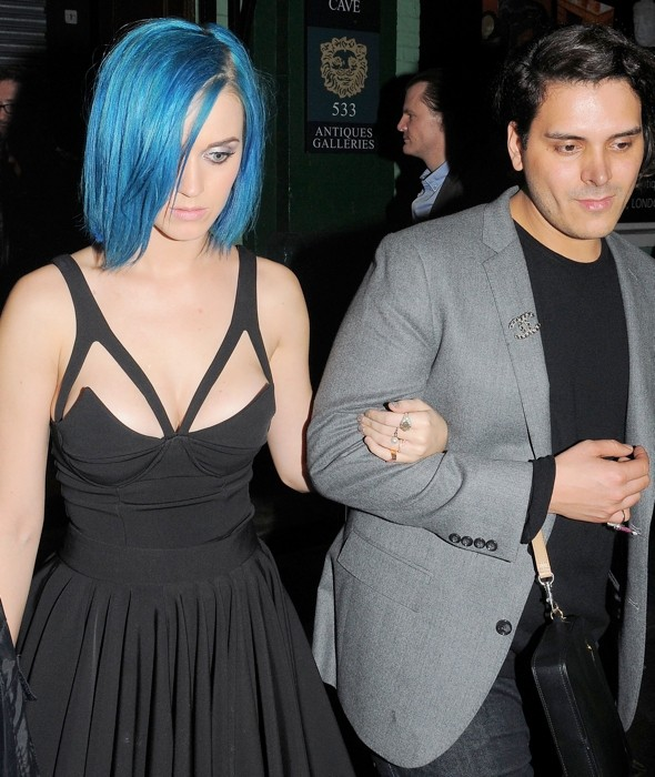 Hot or not: Katy Perry's Madonna-style corset dress