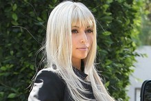 Kim Kardashian experiments to see if blondes really do have more fun