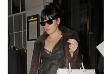 Lily Allen shows off chic street style in London