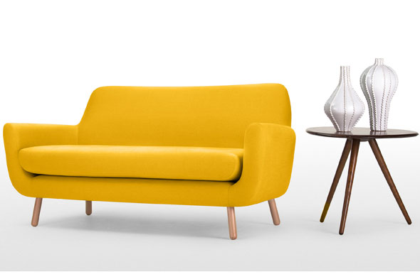 Modern sofas and modern corner sofas love your home - Mad Men Inspired Homeware Mydaily Uk