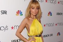 Nicole Richie does sunshine yellow for Fashion Star launch