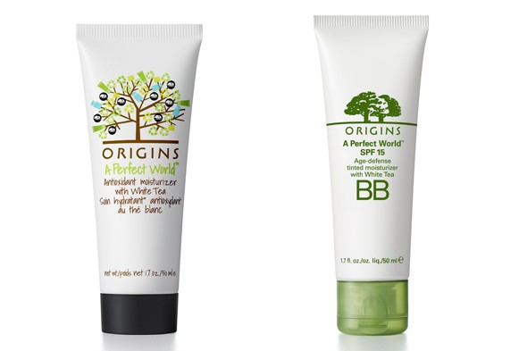 Origins BB Cream and Perfect World Moisturiser