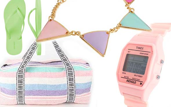 Trend to try: Pastels