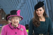 Duchess Kate and the Queen pay a visit to De Montfort university