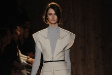 Roland Mouret's Autumn/Winter army