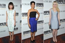 Red carpet report: Rose Byrne, Freida Pinto and Dakota Fanning at Cosmopolitan awards